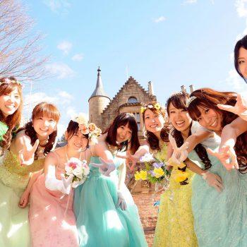 大人気!プリンセスドレス体験~ドレスの詳細やお誕生日、雨の日特典につきまして~
