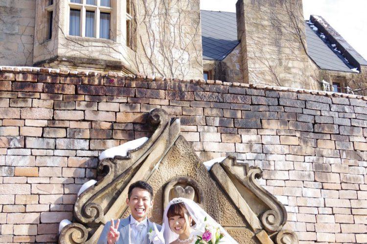 本物の歴史あるお城を舞台に、家族への感謝もちりばめた結婚式