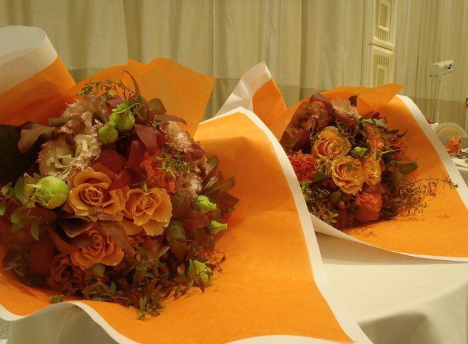 秋色の花束